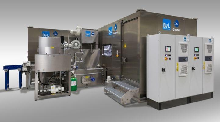 Hochdruckverfahren Geyser kombiniert mit BvL-Durchlaufanlage Yukon