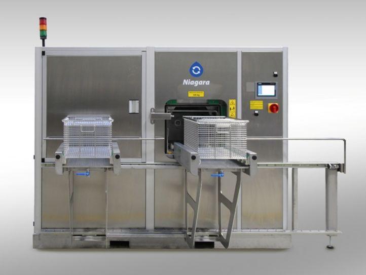 Reinigungsanlage NiagaraMO ermöglicht effiziente Sauberkeit für Metallteile