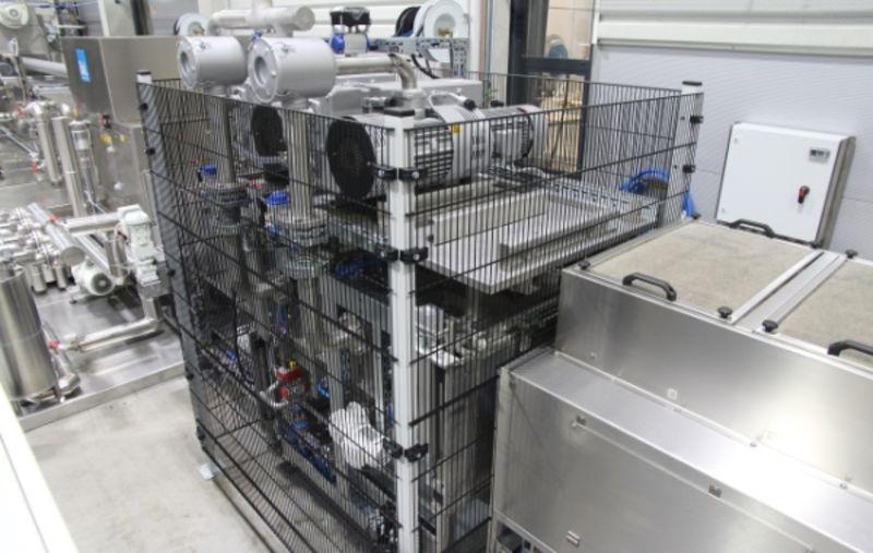 Separate Vakuumtrockenkammer mit zwei Vakuumpumpen bei einer Yukon