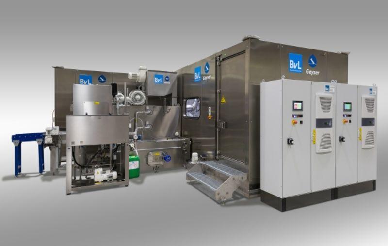 Универсальная установка для максимальной очистки высоким давлением