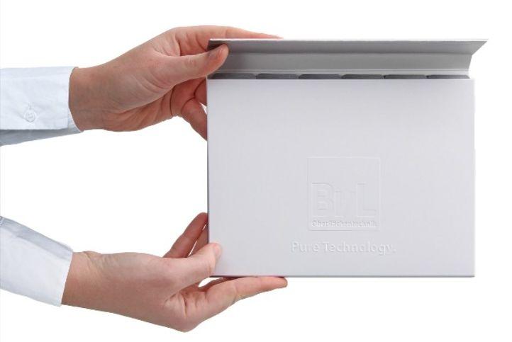 Kompakte und informative Imagebox der BvL Oberflächentechnik