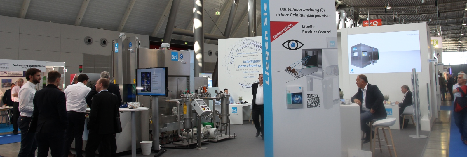 Messestand BvL parts2clean 2019