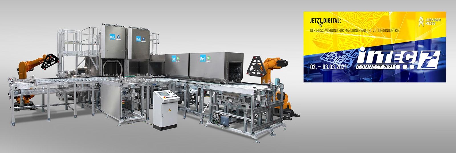 Digitale Intec: Kostenreduzierung durch automatisierte Reinigung