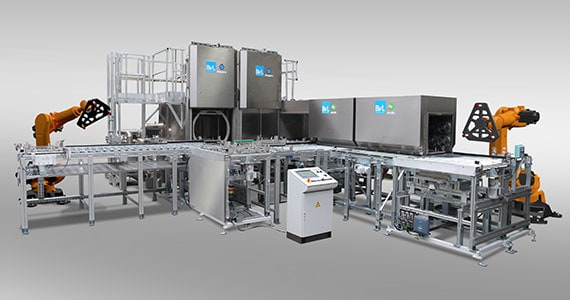 Reducing costs in production with automated cleaning processes
