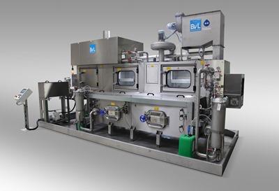 Euroguss 2020: <br/>Reinigungsanlagen mit innovativer Sensortechnik