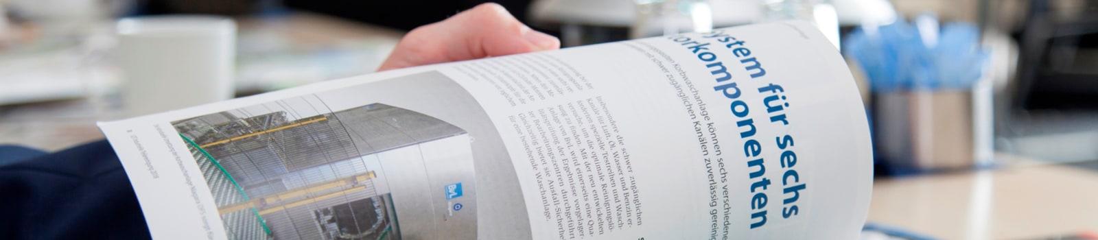 Presseartikel von BvL veröffentlicht in Fachzeitschriften