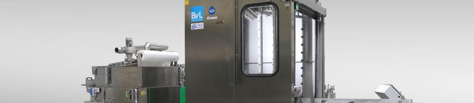 Reinigungsanlage OceanRW von BvL für Bahn-Statorenreinigung