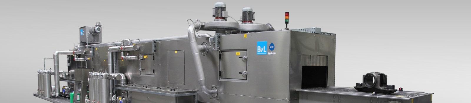 Reinigungsanlage Yukon von BvL mit neuen Bahngehäusen zur Einfahrt in die Anlage