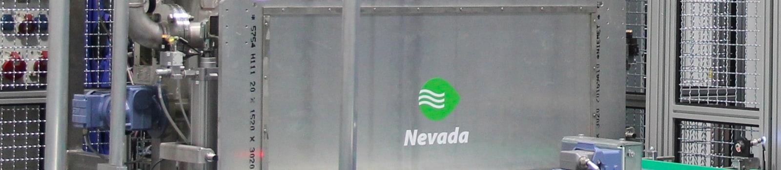 Nevada: Umluft-, Heißluft- und Vakuumtrocknung oder Mittel- oder Hochdruckblaseinrichtungen