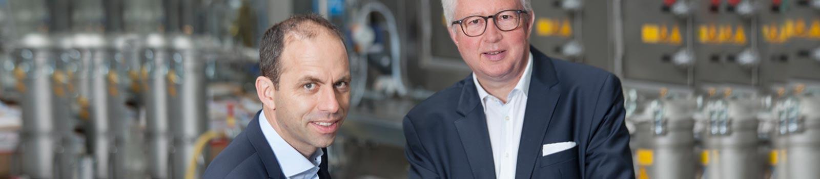 Geschäftsführung Bernard van Lengerich (links) und Bernhard Sievering (rechts)